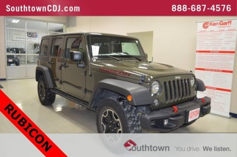 Pre-Owned 2016 Jeep Wrangler Unlimited Rubicon Hard Rock