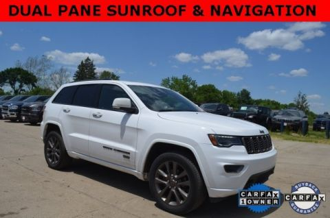 Certified Pre-Owned 2017 Jeep Grand Cherokee Limited 75th Anniversary Edition